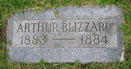 BLIZZARD, ARTHUR - Clark County, Ohio   ARTHUR BLIZZARD - Ohio Gravestone Photos