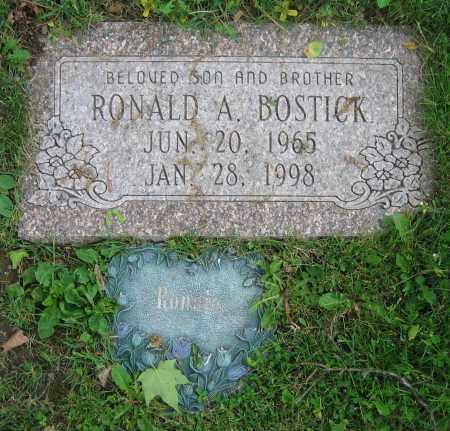BOSTICK, RONALD A. - Clark County, Ohio   RONALD A. BOSTICK - Ohio Gravestone Photos
