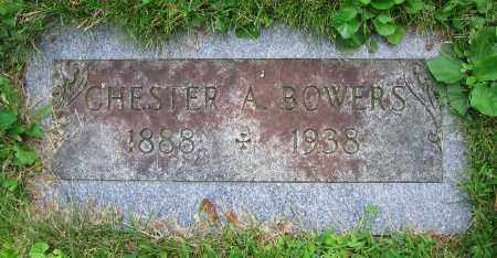 BOWERS, CHESTER A. - Clark County, Ohio | CHESTER A. BOWERS - Ohio Gravestone Photos