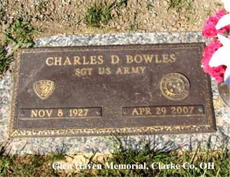 "BOWLES, CHARLES ""DON"" - Clark County, Ohio | CHARLES ""DON"" BOWLES - Ohio Gravestone Photos"