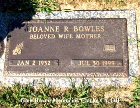 BOWLES, JOANNE - Clark County, Ohio | JOANNE BOWLES - Ohio Gravestone Photos