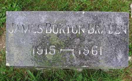 BRADEN, JAMES BURTON - Clark County, Ohio | JAMES BURTON BRADEN - Ohio Gravestone Photos