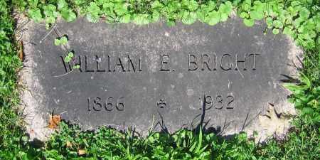 BRIGHT, WILLIAM E. - Clark County, Ohio | WILLIAM E. BRIGHT - Ohio Gravestone Photos