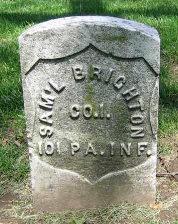 BRIGHTON, SAM'L - Clark County, Ohio | SAM'L BRIGHTON - Ohio Gravestone Photos