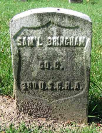 BRINCHAM, SAM'L - Clark County, Ohio | SAM'L BRINCHAM - Ohio Gravestone Photos