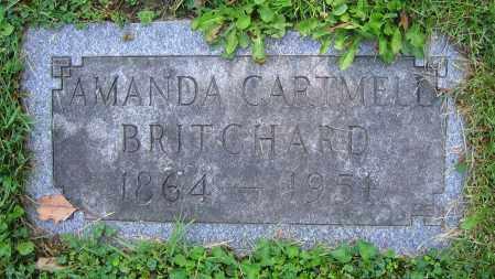 BRITCHARD, AMANDA - Clark County, Ohio | AMANDA BRITCHARD - Ohio Gravestone Photos