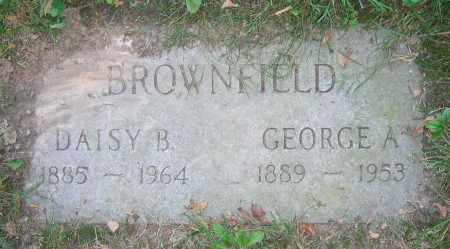 BROWNFIELD, GEORGE A. - Clark County, Ohio | GEORGE A. BROWNFIELD - Ohio Gravestone Photos