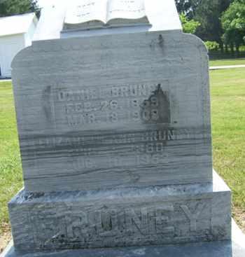 BRUNEY, ELIZABETH - Clark County, Ohio | ELIZABETH BRUNEY - Ohio Gravestone Photos