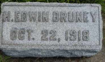 BRUNEY, H. EDWIN - Clark County, Ohio | H. EDWIN BRUNEY - Ohio Gravestone Photos