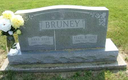 HYDE BRUNEY, ANNA - Clark County, Ohio | ANNA HYDE BRUNEY - Ohio Gravestone Photos