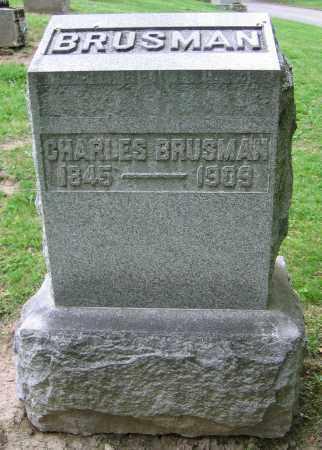 BRUSMAN, CHARLES - Clark County, Ohio | CHARLES BRUSMAN - Ohio Gravestone Photos