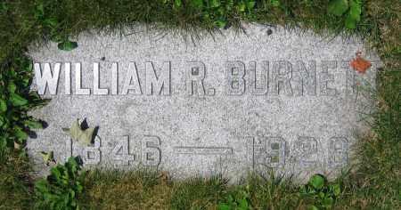 BURNETT, WILLIAM R. - Clark County, Ohio   WILLIAM R. BURNETT - Ohio Gravestone Photos