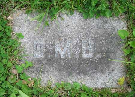BURNS, D.M. - Clark County, Ohio   D.M. BURNS - Ohio Gravestone Photos