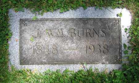 BURNS, J. WM. - Clark County, Ohio | J. WM. BURNS - Ohio Gravestone Photos