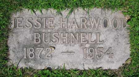 BUSHNELL, JESSIE - Clark County, Ohio | JESSIE BUSHNELL - Ohio Gravestone Photos