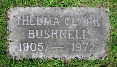 CLARK BUSHNELL, THELMA - Clark County, Ohio | THELMA CLARK BUSHNELL - Ohio Gravestone Photos