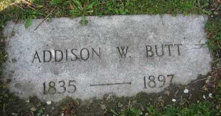 BUTT, ADDISON W. - Clark County, Ohio | ADDISON W. BUTT - Ohio Gravestone Photos