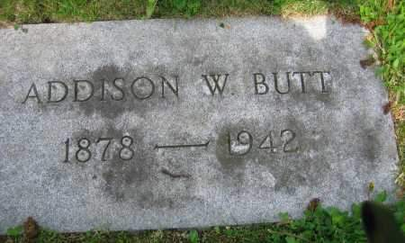 BUTT, ADDISON W. - Clark County, Ohio   ADDISON W. BUTT - Ohio Gravestone Photos