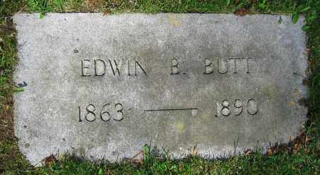 BUTT, EDWIN B. - Clark County, Ohio | EDWIN B. BUTT - Ohio Gravestone Photos