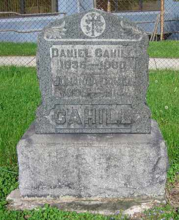 CAHILL, DANIEL - Clark County, Ohio | DANIEL CAHILL - Ohio Gravestone Photos