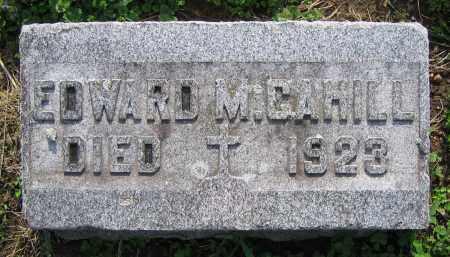 CAHILL, EDWARD M. - Clark County, Ohio | EDWARD M. CAHILL - Ohio Gravestone Photos