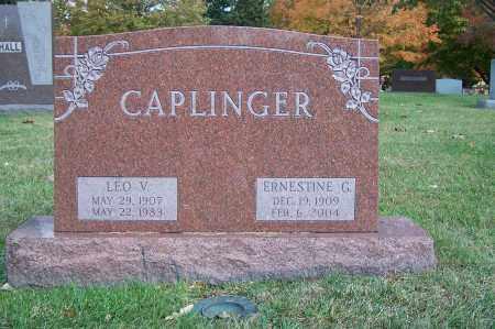 CAPLINGER, LEO V - Clark County, Ohio | LEO V CAPLINGER - Ohio Gravestone Photos