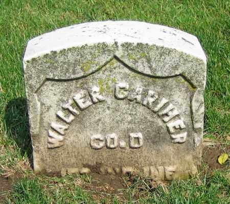 CARIHER, WALTER - Clark County, Ohio | WALTER CARIHER - Ohio Gravestone Photos