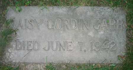 CARR, DAISY GORDIN - Clark County, Ohio   DAISY GORDIN CARR - Ohio Gravestone Photos