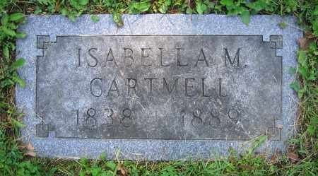 CARTMELL, ISABELLA M. - Clark County, Ohio | ISABELLA M. CARTMELL - Ohio Gravestone Photos