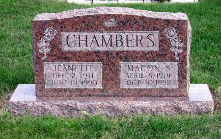 THOMPSON CHAMBERS, JEANETTE - Clark County, Ohio | JEANETTE THOMPSON CHAMBERS - Ohio Gravestone Photos