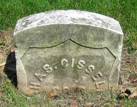 CISSELL, CHAS. - Clark County, Ohio   CHAS. CISSELL - Ohio Gravestone Photos