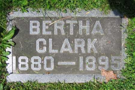 CLARK, BERTHA - Clark County, Ohio | BERTHA CLARK - Ohio Gravestone Photos