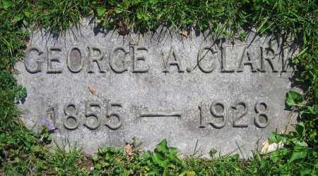 CLARK, GEORGE A. - Clark County, Ohio   GEORGE A. CLARK - Ohio Gravestone Photos