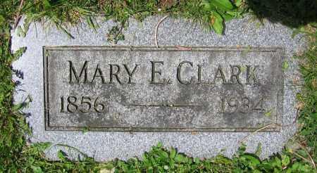 CLARK, MARY E. - Clark County, Ohio   MARY E. CLARK - Ohio Gravestone Photos