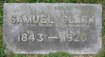 CLARK, SAMUEL - Clark County, Ohio   SAMUEL CLARK - Ohio Gravestone Photos