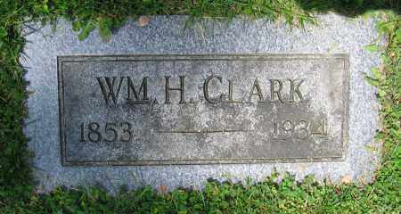 CLARK, WM. H. - Clark County, Ohio   WM. H. CLARK - Ohio Gravestone Photos
