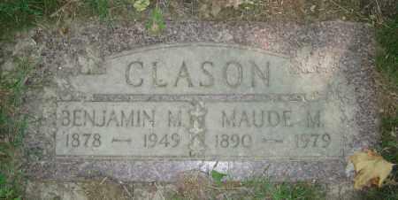 CLASON, MAUDE M. - Clark County, Ohio   MAUDE M. CLASON - Ohio Gravestone Photos