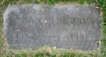 CLINGERMAN, MINERVA - Clark County, Ohio | MINERVA CLINGERMAN - Ohio Gravestone Photos