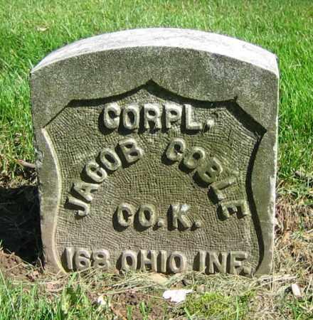 COBLE, JACOB - Clark County, Ohio | JACOB COBLE - Ohio Gravestone Photos