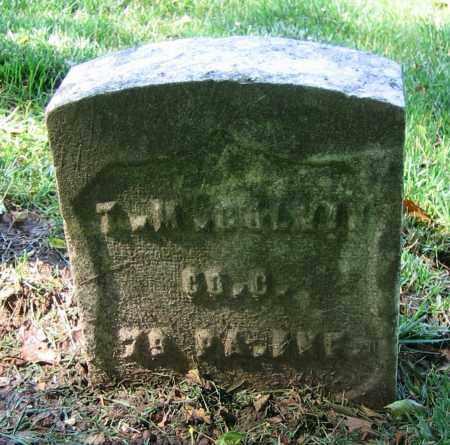 COLVIN, T.M. - Clark County, Ohio   T.M. COLVIN - Ohio Gravestone Photos