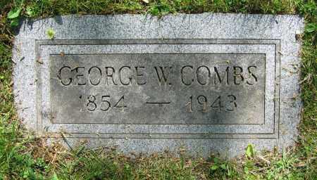 COMBS, GEORGE W. - Clark County, Ohio   GEORGE W. COMBS - Ohio Gravestone Photos