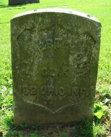 CONN, ALBERT - Clark County, Ohio | ALBERT CONN - Ohio Gravestone Photos