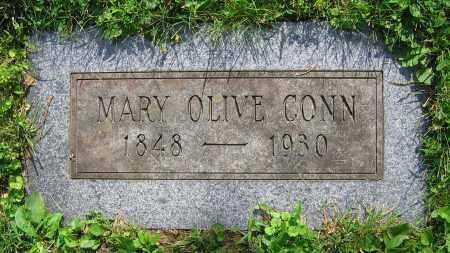 CONN, MARY OLIVE - Clark County, Ohio | MARY OLIVE CONN - Ohio Gravestone Photos