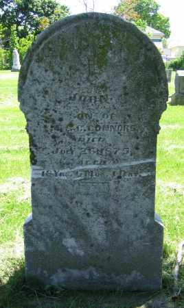 CONNORS, JOHN - Clark County, Ohio | JOHN CONNORS - Ohio Gravestone Photos