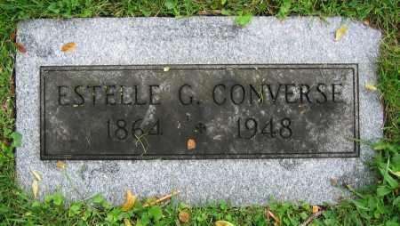 CONVERSE, ESTELLE G. - Clark County, Ohio   ESTELLE G. CONVERSE - Ohio Gravestone Photos