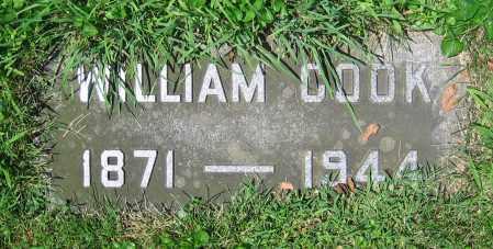 COOK, WILLIAM - Clark County, Ohio | WILLIAM COOK - Ohio Gravestone Photos