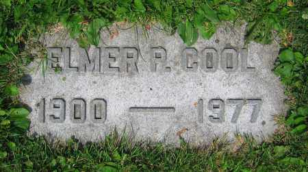 COOL, ELMER P. - Clark County, Ohio | ELMER P. COOL - Ohio Gravestone Photos