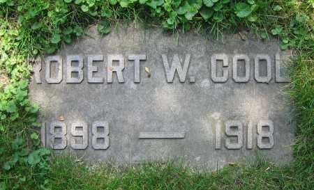 COOL, ROBERT W. - Clark County, Ohio   ROBERT W. COOL - Ohio Gravestone Photos