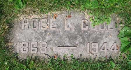 COOL, ROSE L. - Clark County, Ohio   ROSE L. COOL - Ohio Gravestone Photos