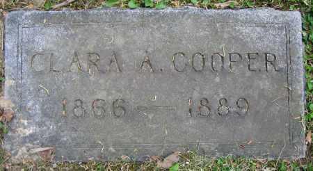 COOPER, CLARA A. - Clark County, Ohio | CLARA A. COOPER - Ohio Gravestone Photos